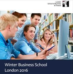 Краткосрочные курсы в Лондоне: Winter Business School